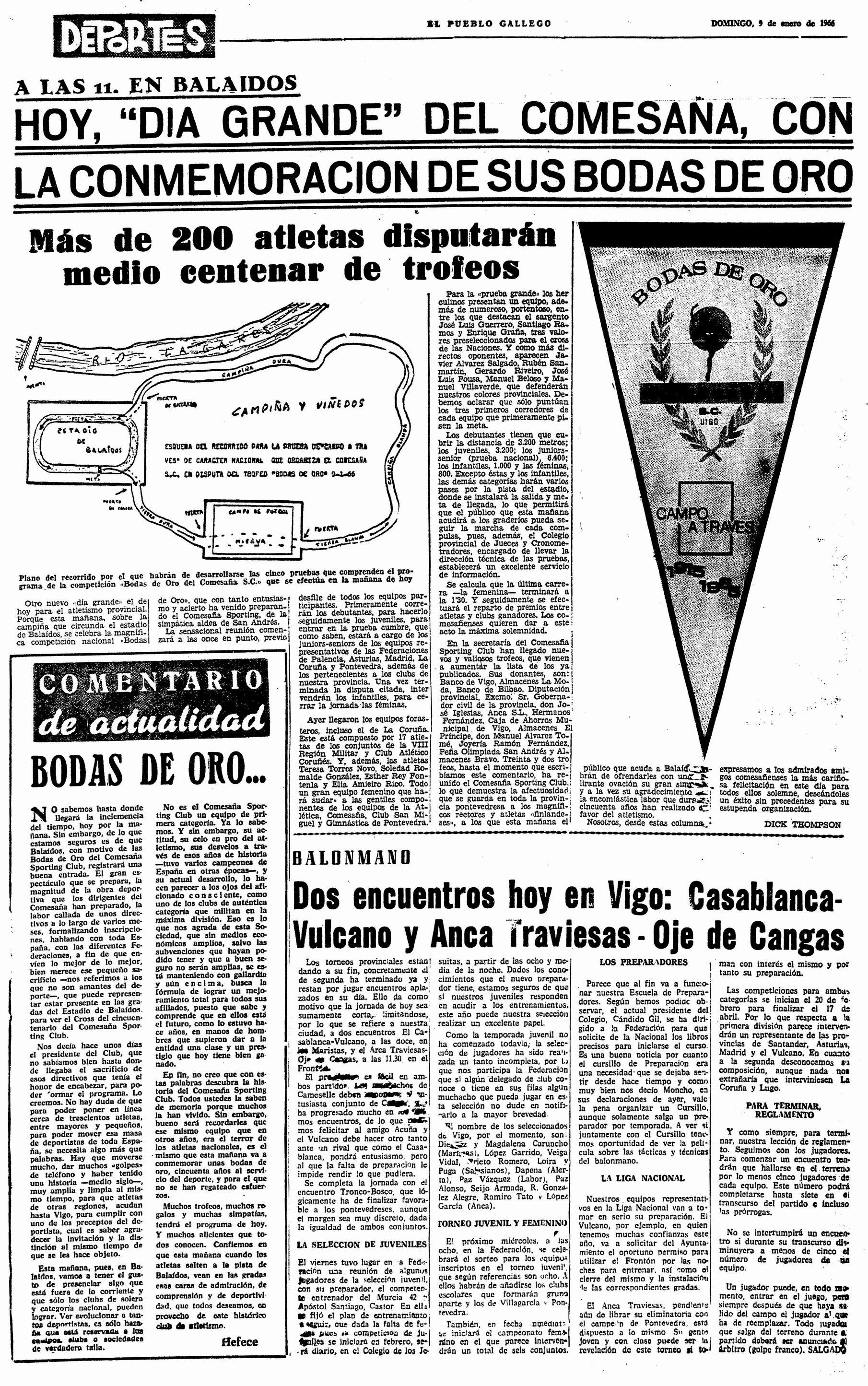 El Pueblo Gallego 09-01-1966