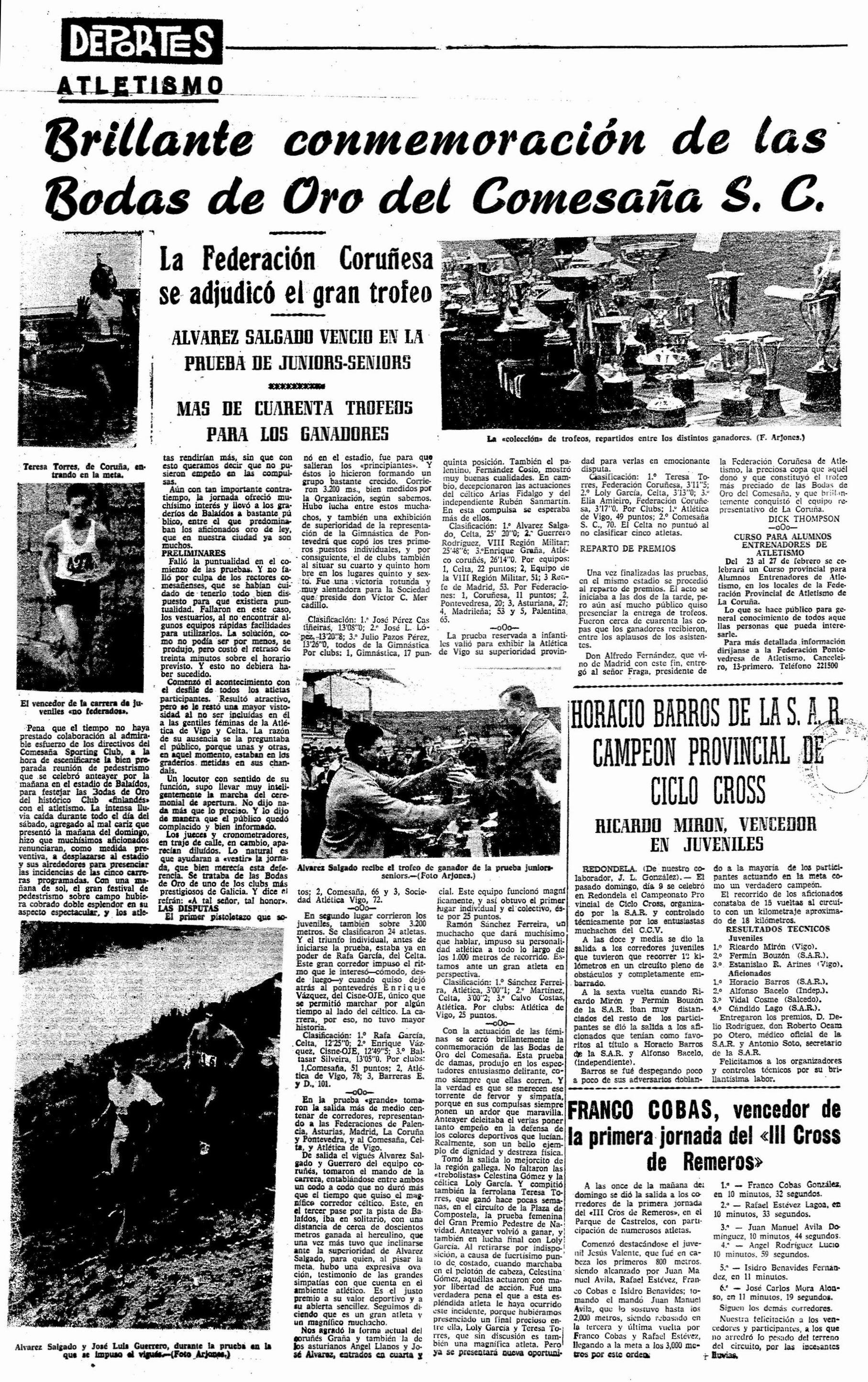 El Pueblo Gallego 11-01-1966