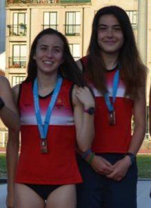 Carmela Cardama y Ángela González