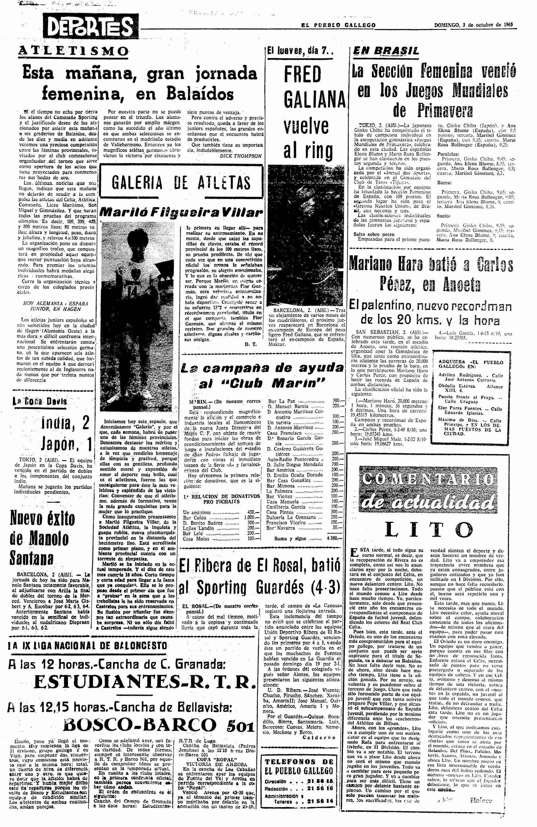 El Pueblo Gallego 03-10-1965
