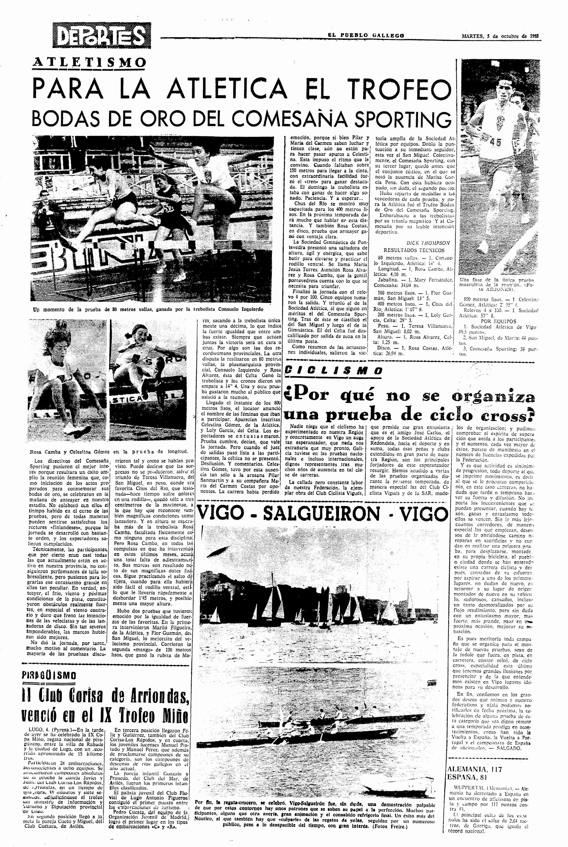 El Pueblo Gallego 05-10-1965