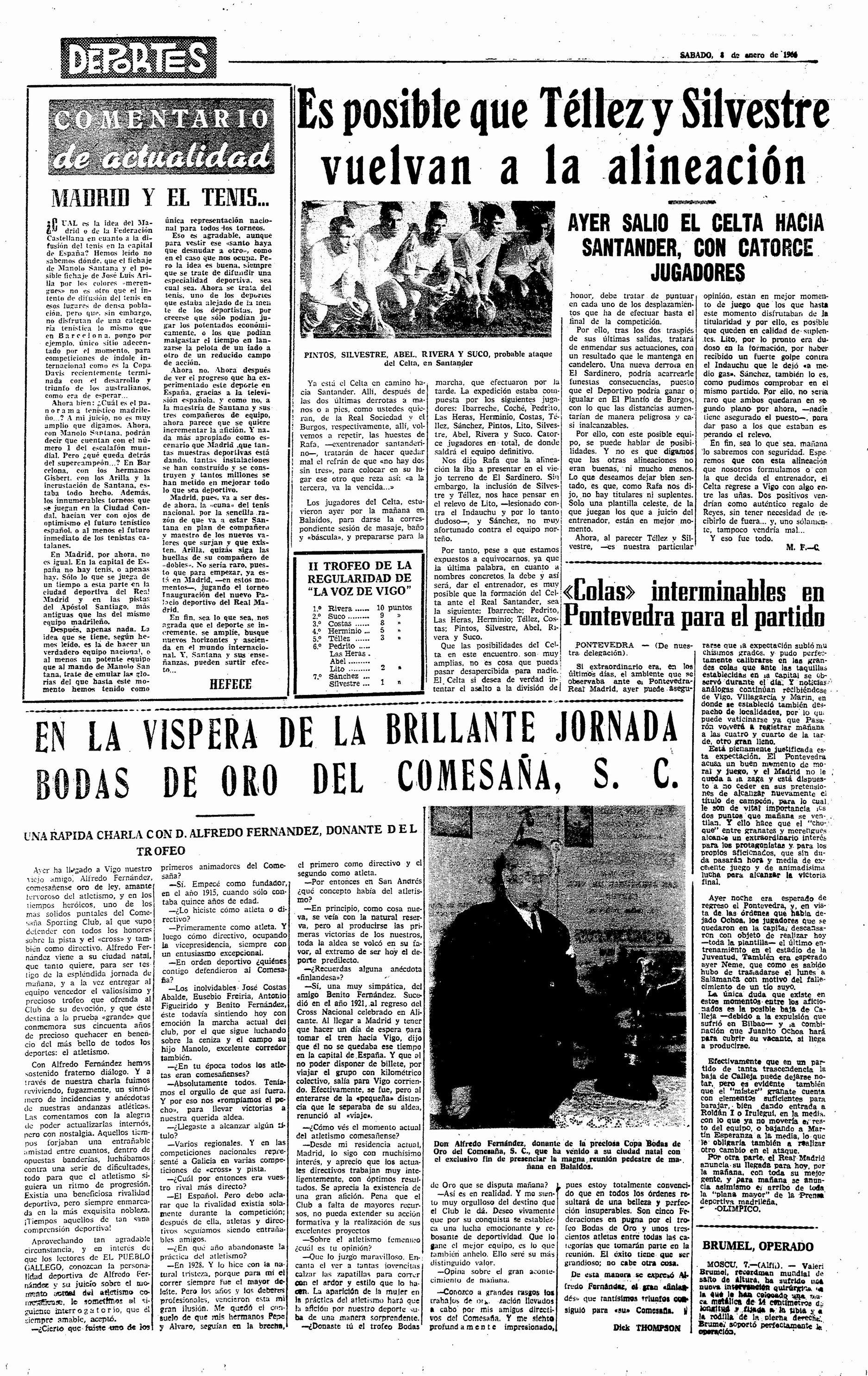 El Pueblo Gallego 08-01-1966